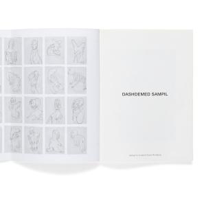 Dashdemed Sampil, Seite 1 mit vollständig aufgeschlagenem Umschlag